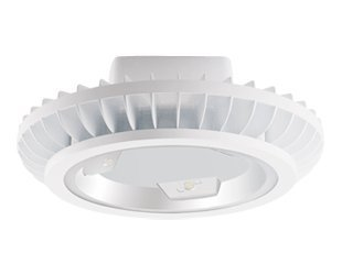 RAB BAYLED78W - 78 Watt - LED High Bay - 79 Lumens per Watt - 5100K Stark White - 120/208/240/277 Volt - White Finish