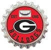 Georgia Bulldogs Magnetic Bottle Opener (Georgia Bulldogs Bottle Opener)