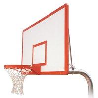 最初チームRuffneck dynasty-ext steel-fiberglass in ground固定高さバスケットボールsystem44 ;サドルブラウン B01HC0DVC4