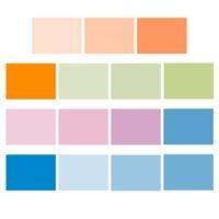 Rosco Color Correction Kit, Sixteen 10'' x 12'' Light Correction Filters.