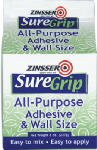 SureGrip All-Purpose Adhesive And Wall size-8OZ ADHESIVE & W
