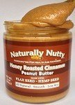 Naturally Nutty - 15oz. Honey-Roasted Cinnamon Peanut Butter by Naturally Nutty
