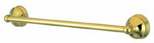 (Kingston Brass BA1162PB Vintage 18-Inch Towel Bar, Polished Brass)