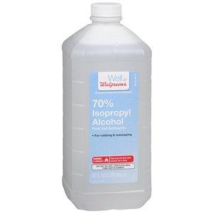 Amazon com: Walgreens Isopropyl Alcohol 70% - 32 oz bottle