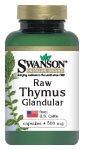 Swanson Raw Thymus Glandular 500 mg 60 Caps by Swanson Premium