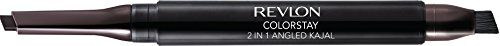 (Revlon ColorStay 2-in-1 Angled Kajal Waterproof Eyeliner, Fig)