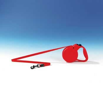 Flexi Flexi Classic All Belt 1 Red,16' Collars & Leashes