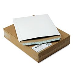 (Quality Park Photo/Document Mailer, Redi-Strip, Side Seam, 12 3/4 x 15, White, 25/Box)