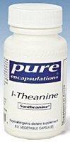 Pure Encapsulations l-théanine 200 mg - 60 capsules