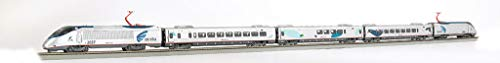 Bachmann Trains - Amtrak Acela DCC Equipped Ready to Run Electric Train Set - HO Scale