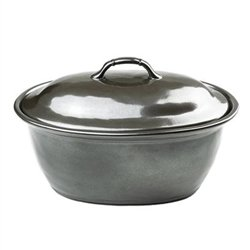 (Juliska Pewter Stoneware Medium Covered Casserole)