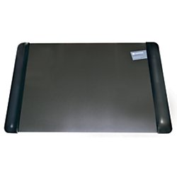 Office Depot Executive Desk Pad With Microban(R), 20in. x 36in., Black, 4138-6-1M-OD (Office Desk Depot Chairs)