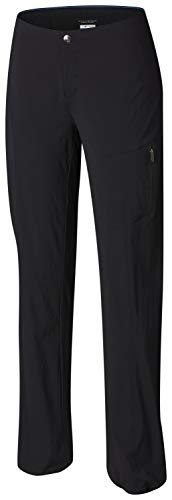 Columbia Women's Just Right Straight Leg Pant, Black, 12R