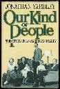 Our Kind of People, Jonathan Yardley, 1555841740
