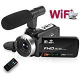 Camcorder Digital Video Camera, WiFi Vlog...