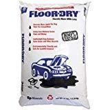 Floor-Dry 9825 DE Premium Oil Absorbent, Diatomaceous Earth, 25lb Poly Bag