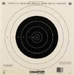 100yd rifle target - Champion Official NRA Paper Targets 100 yd. Small Bore Rifle (Single Bull) 12 Pack # 40762