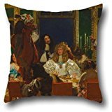 [Pillowcase Of Oil Painting Augustus Leopold Egg - The Life Of Buckingham 18 X 18 Inches / 45 By 45 Cm,best Fit For Saloon,kids Boys,lounge,floor,lover,christmas Twin] (House Of A Thousand Corpses Baby Costume)