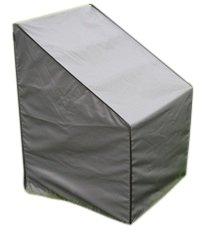 67 x 67 x 80//110 cm L x L x A | Resistente allAcqua Mobilia da Giardino e Patio Forte e Durevole per Sedia SORARA Grigio Premium Copertura Protettiva