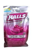 - Halls Mentho-Lyptus Drops Sugar Free Black Cherry - 25 ct, Pack of 2