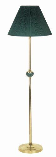 A-Plus Trading Gold Color Ceramic Floor Standing Lamp 60