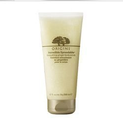 Origins Ginger Gloss Smoothing Body Oil - Origins Incredible Spreadable Smoothing ginger body scrub 3.4 fl. oz./100 ml (Packaging May Vary)