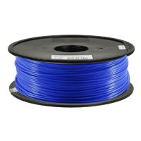 Inland 1.75mm Blue PLA 3D Printer Filament - 1kg Spool (2.2 lbs) by Inland