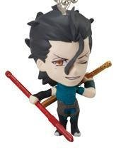 Fate Zero Lancer Swing Keychain Figure