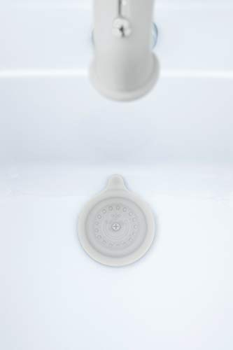 Ubbi Baby Bath Drain Cover, Bathtub Stopper for Baby, Toddlers and Children, Gray