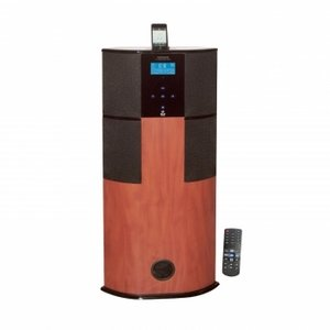 Pyle PHST90ICW 600 Watt Digital 2.1 Channel Home Theater Tower with iPod Docking Station (Cherry Wood Finish)