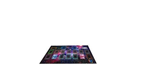 Yo-gi-oh Custom Galaxy Template 2017 Master Rule 4 Link Zone Playmat - Yugioh Galaxy Master Rule 4 Link Zone Playmat TCG Playmat MTG Playmat TCG Play mat Yogioh Playmat