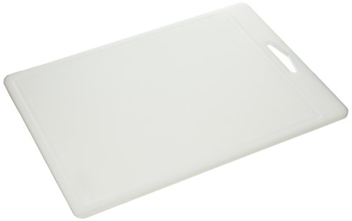Commercial Antimicrobial - Commercial PE Cutting Board W/ Juice Grooves, NSF Approved and Antimicrobial Material, 18