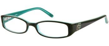 GUESS Eyeglasses GU 1685 Brown Over Teal 51MM