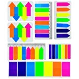 1480 Pieces Flag Tabs 6 Sizes Page Markers Colored Sticky Notes Writable Labels Page Marker Bookmarks Text Highlighter Strips Fluorescent Index Flags Tab 8 Colors 7 Set by Lee-buty