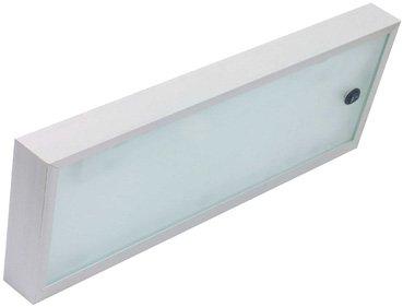 aluminium leuchtregal leuchte glas regal glasregal küche wandregal ... - Küchenregal Mit Beleuchtung