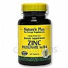 Nature's Plus - Zinc Picolinate W/ Vitamin B-6 Tabs 60