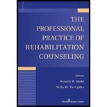 img - for The Professional Practice of Rehabilitation Counseling. (Springer Publishing Company,2011) [Paperback] 2ND EDITION book / textbook / text book