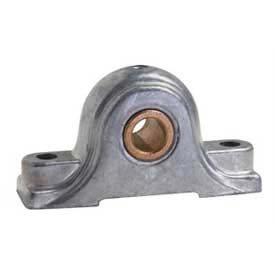Clesco, Pillow Block Bronze Bearing, PBDC-BR-075, Rigid, Die Cast Zinc Housing, 3/4'' Bore