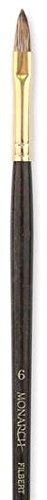 Monarch Filbert Long Handle - Winsor & Newton Monarch Brushes (Size: 6) - Filbert (Long Handle) 1 pcs sku# 1841992MA