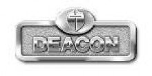 UPC 081407006055, Badge-Deacon w/Cross-Magnetic-Silver