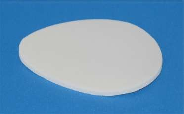 Pads #552 Metatarsal Adhesive Foam 1/8'' -100- by Superior Felt
