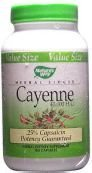 Nature's Way Cayenne Pepper, 450 mg, 180 Capsules (Pack of 2) ()