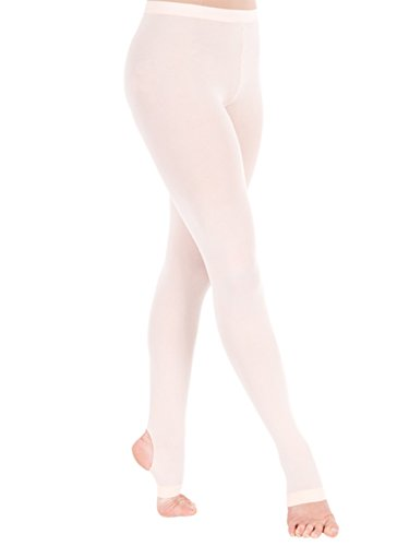 Butterfly Girls Microfiber Hold and Strech Footed Tights Light Grey Size C