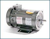 BALDOR CDP3445 56C Frame TEFC DC Motor, 1 hp, 1750 rpm, 3435P, F1, 90V Armature Voltage by Baldor