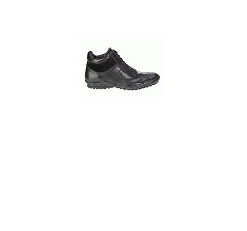 hombre Geox Negro Zapatillas Negro para deporte de tIIvwX