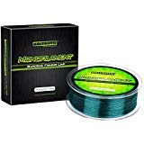 KastKing Premium Monofilament Fishing Line - Superior Mono Nylon Material - Paralleled Roll Track Design - Tournament Grade - Strong, Abrasion Resistant Mono Line for Saltwater (Green, 600Yds/4LB)