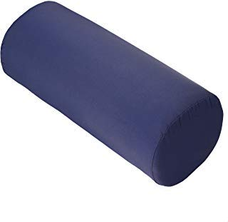 Dr. Franklyn's Roller Cushion Bolster Pillow with Removable Cover - Optimal Back Support & Pain Relief (13