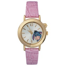 Disney Pink Croco Musical Eeyore Watch
