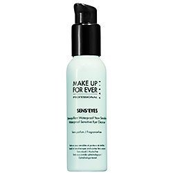Make up for Ever Sens'eyes - Waterproof Sensitive Eye Cleanser 3.38 Fl. Oz -gel makeup remover for eyes and lips...