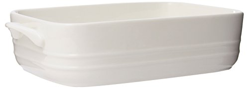 Maxwell and Williams Basics Oven Chef Rectangular Baker, 11 by 8-Inch, White